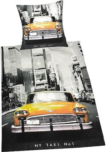 Herding Young Collection Bettwäsche »Taxi«, mit Motiv kaufen
