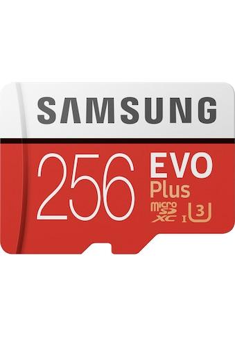 Samsung Speicherkarte »EVO Plus 2020 microSD«, ( UHS Class 3 100 MB/s Lesegeschwindigkeit) kaufen