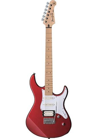 Yamaha E-Gitarre »PA112VMRMRL, Red Metallic« kaufen