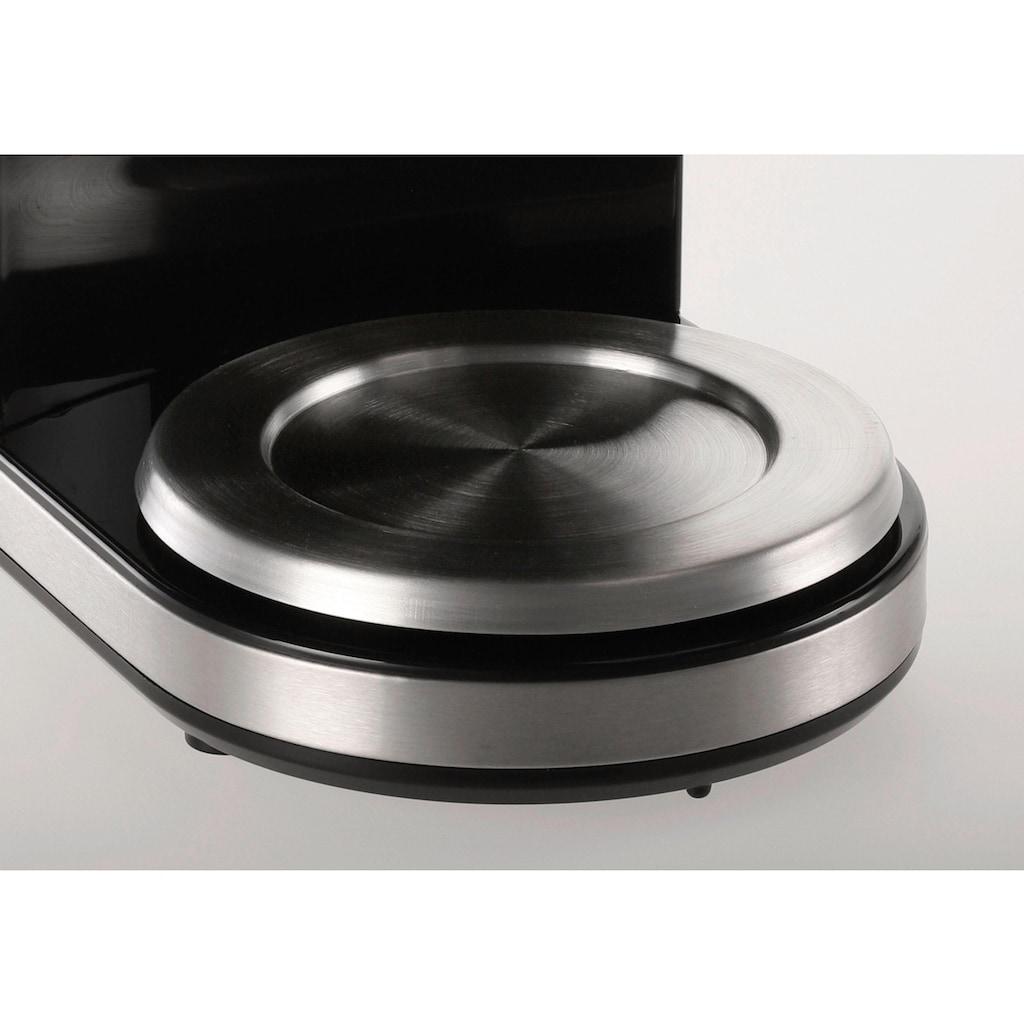 Melitta Kaffeemühle »Calibra 1027-01 schwarz-Edelstahl«, 160 W, Kegelmahlwerk, 375 g Bohnenbehälter