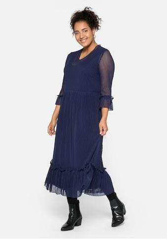 Sheego Partykleid, im Streifenlook kaufen