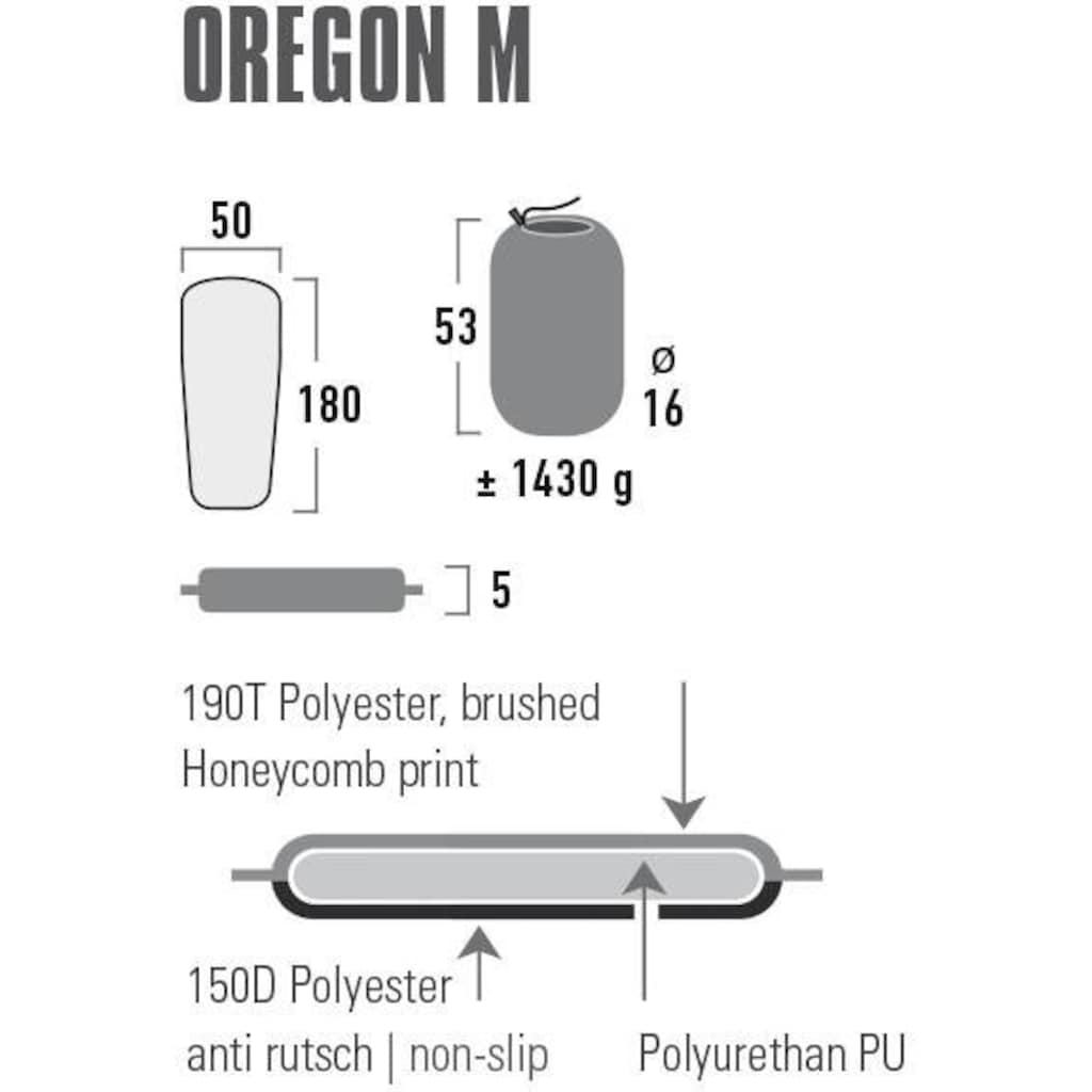High Peak Thermomatte »selbstaufblasbare Matte Oregon«