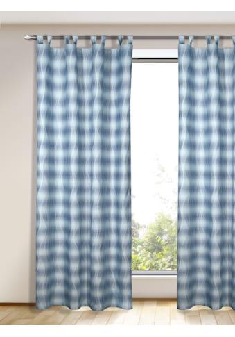 Vorhang, »Wellenlinien«, , Schlaufen 1 Stück kaufen