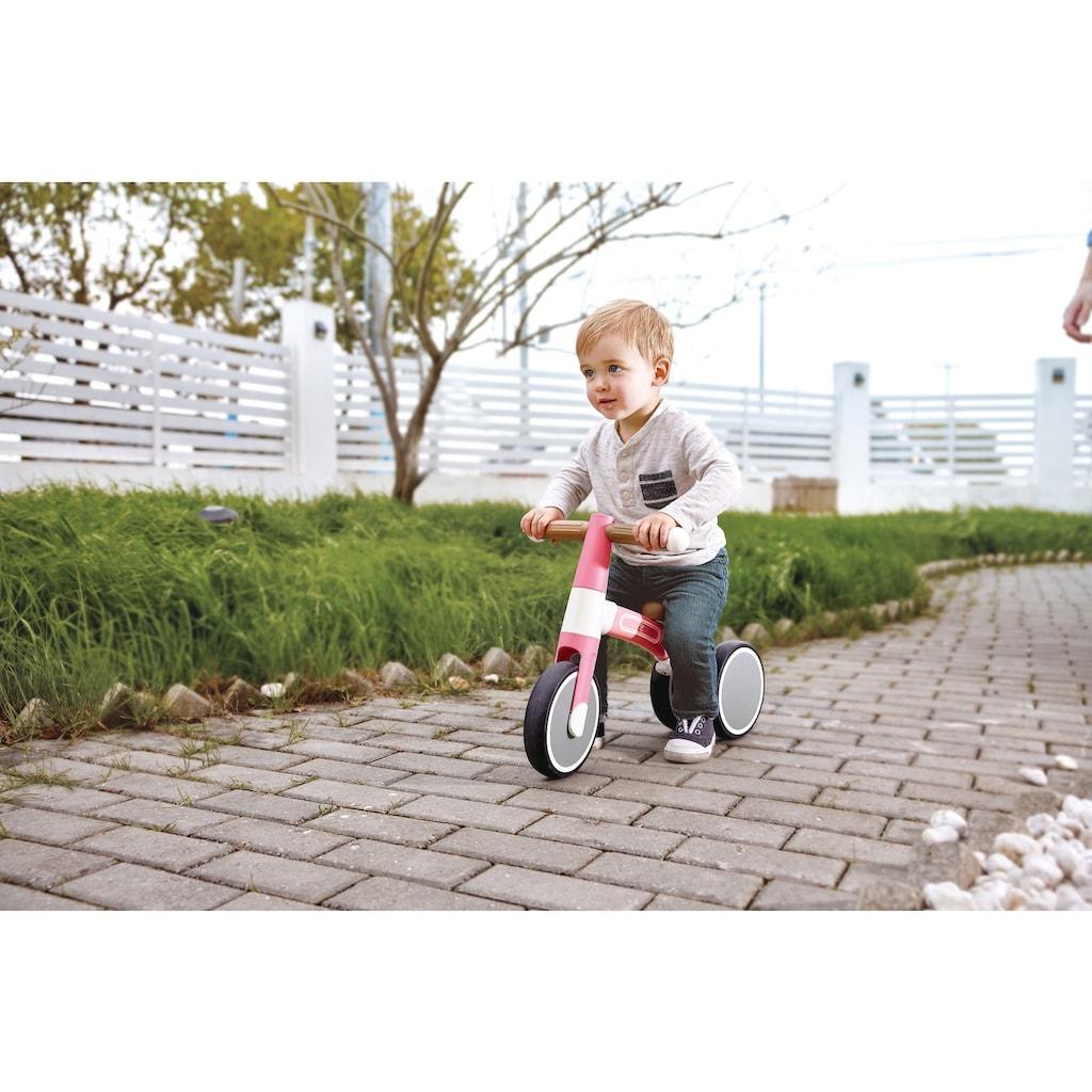 Hape Dreirad »Mein erstes Lauf-Dreirad, Rosa«, mit leichtem Aluminiumrahmen