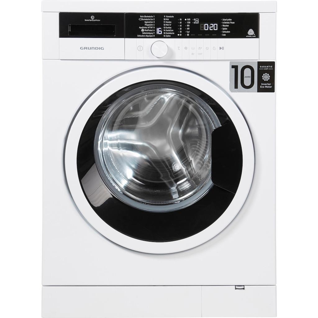 Grundig Waschmaschine »GWO 37630 WB«, GWO 37630 WB