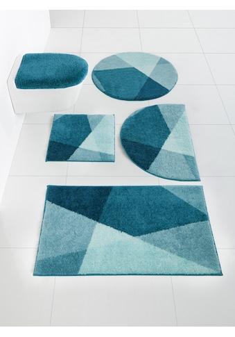 Badgarnitur Ismeria mit grafischem Design kaufen