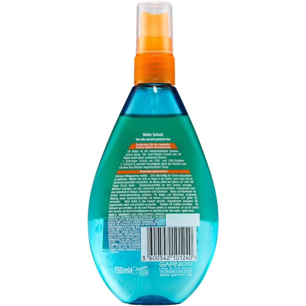 GARNIER Sonnenschutzspray »Ambre Solaire UV Water LSF30«