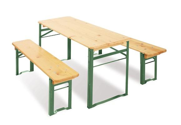 Bierbänke und Tisch für Kinder