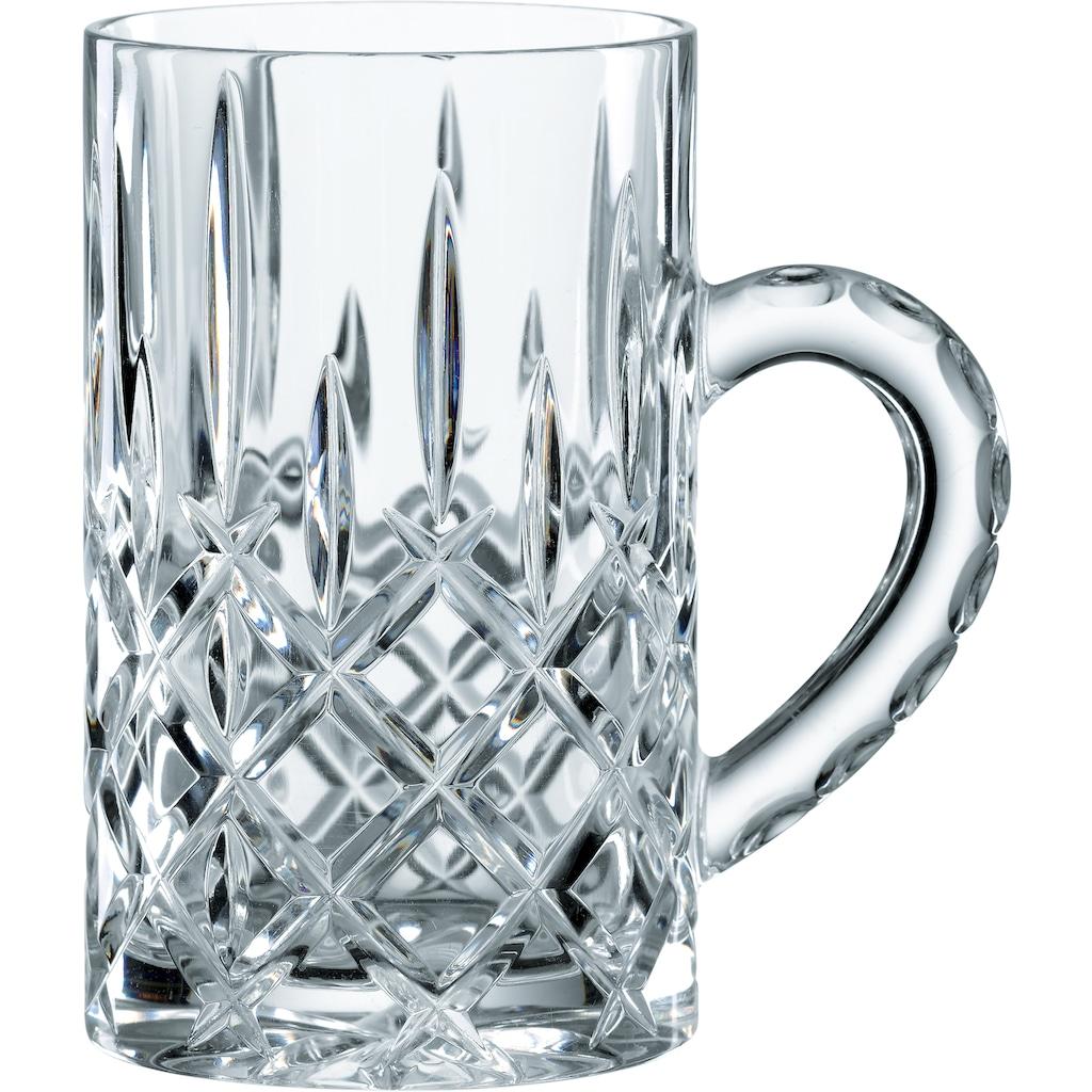 Nachtmann Teeglas »Noblesse«, (Set, 4 tlg.), für Glühwein, 250 ml, 4-teilig
