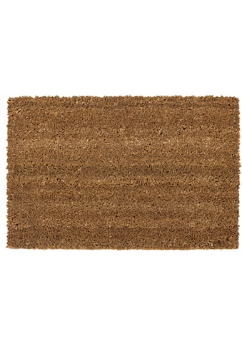 Fußmatte, »Kokos uni«, Andiamo, rechteckig, Höhe 15 mm, maschinell getuftet kaufen