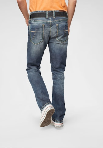 CAMP DAVID Straight-Jeans »NI:CO:R611«, mit markanten Steppnähten kaufen