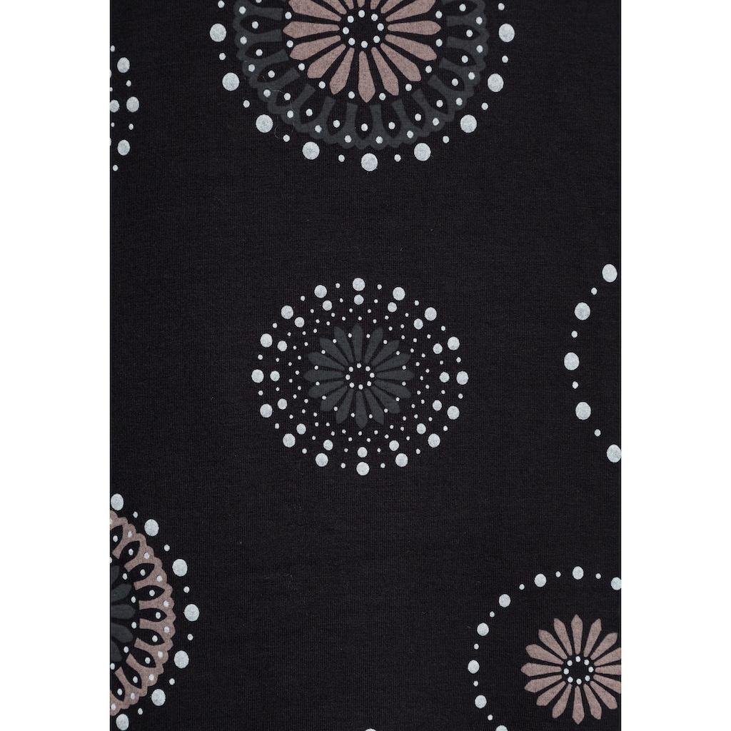 Boysen's Jerseykleid, in leicht ausgestellter Form