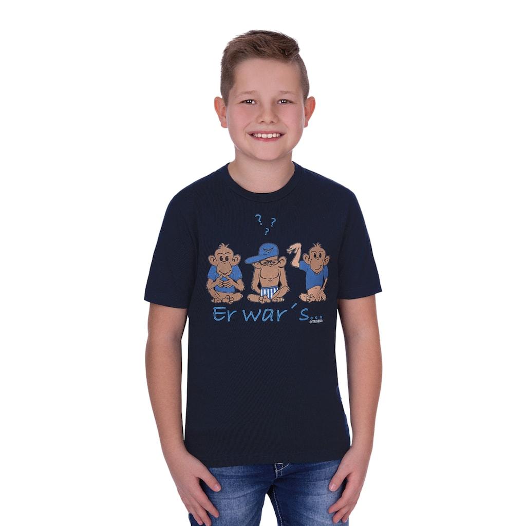 Trigema T-Shirt, mit Druckmotiv