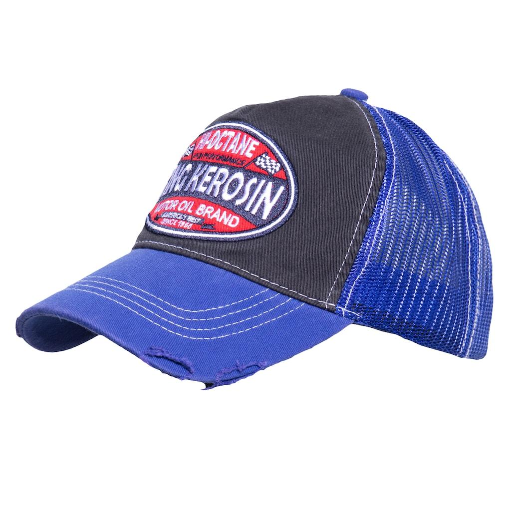 KingKerosin Trucker Cap »Hi-Octane«, im Used-Look