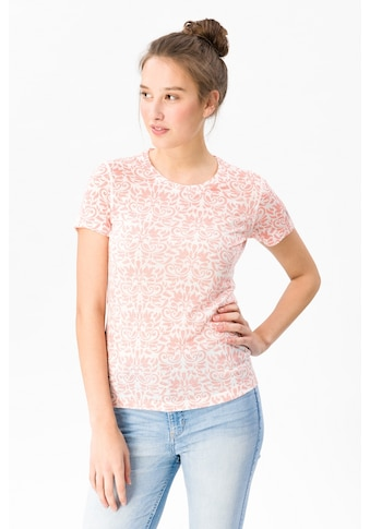SUPER.NATURAL T-Shirt »W BASE TEE 140 PRINTED«, pflegeleichter Merino-Materialmix kaufen