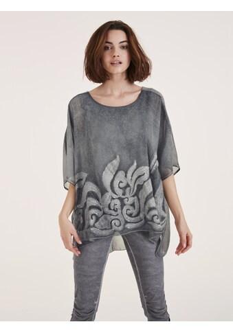 Bluse mit Rundhalsausschnitt kaufen