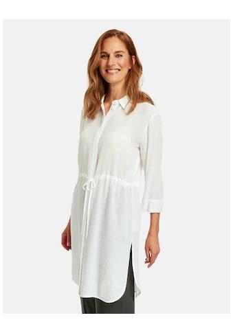 GERRY WEBER Klassische Bluse »Lange Bluse mit Taillenband« kaufen