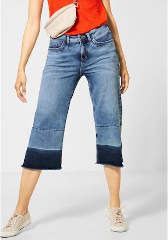 STREET ONE Weite Jeans, im Denim Look kaufen