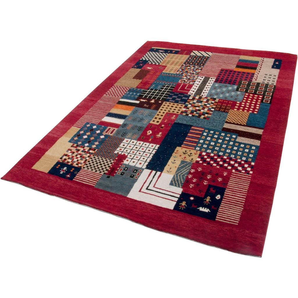 THEKO Wollteppich »Lori Astara«, rechteckig, 16 mm Höhe, reine Wolle, handgeknüpft, Wohnzimmer