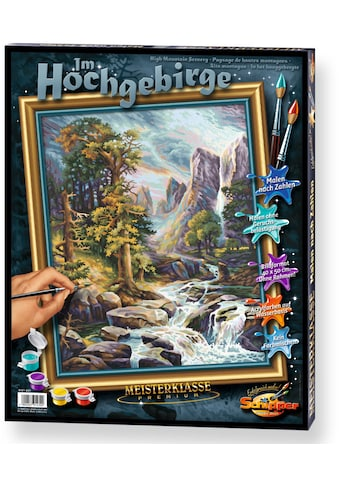 Schipper Malen nach Zahlen »Meisterklasse Premium Im Hochgebirge«, Made in Germany kaufen