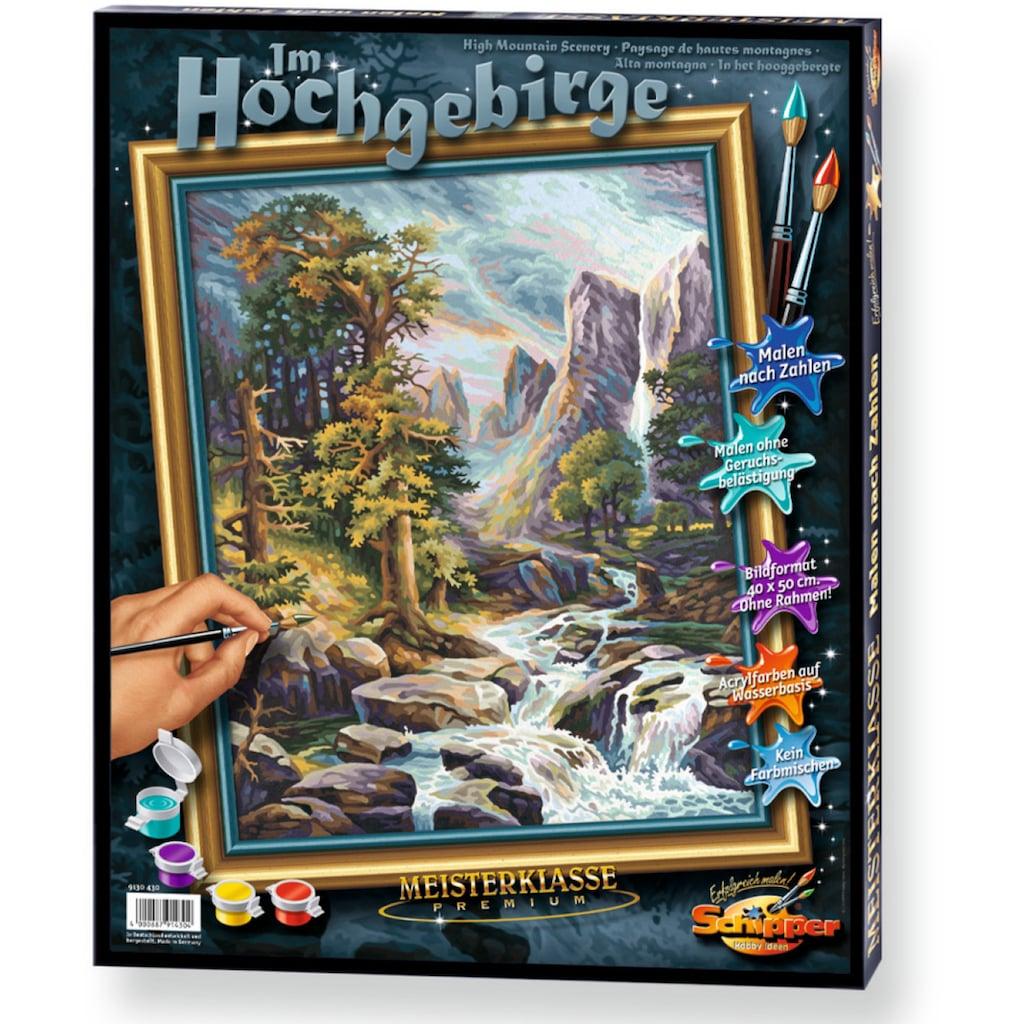 Schipper Malen nach Zahlen »Meisterklasse Premium Im Hochgebirge«, Made in Germany