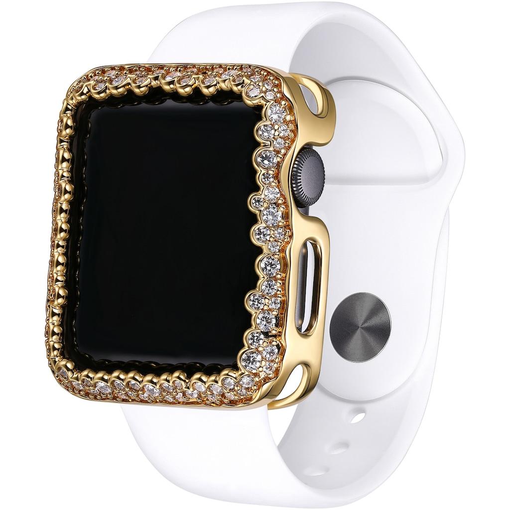SKY•B Smartwatch-Hülle »CHAMPAGNE BUBBLES, W004G38, 38 mm«, Watch