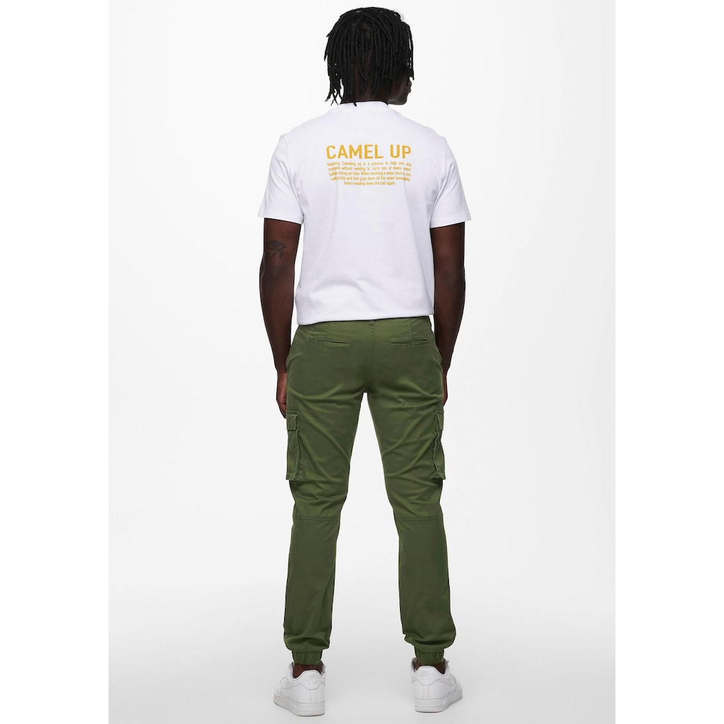 ONLY & SONS Cargohose »CAM STAGE CARGO CUFF«
