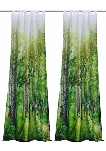 Vorhang, »NUTLA«, HOME WOHNIDEEN, Schlaufen 2 Stück kaufen