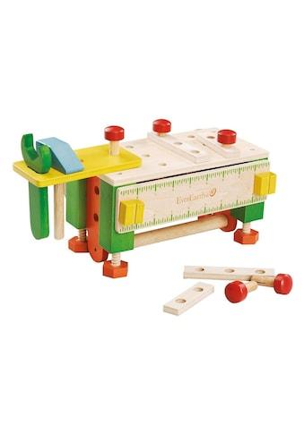 EverEarth® Spiel-Werkzeugstation »2-in-1 Werkzeugkasten und Werkbank«, FSC®-Holz aus... kaufen