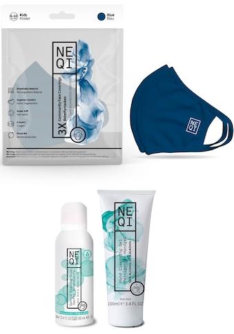NEQI Community-Maske, für Kinder, inkl. feuchtigkeitsspendende Handseife und... kaufen