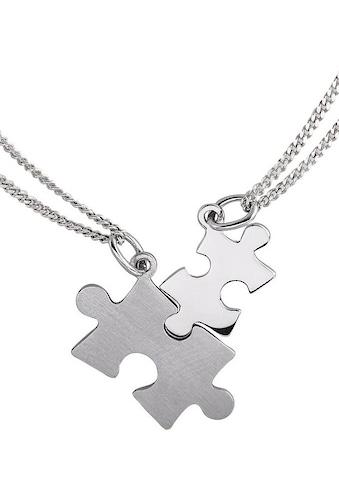 Firetti Kette und Anhänger Set »Partner - Puzzle« kaufen