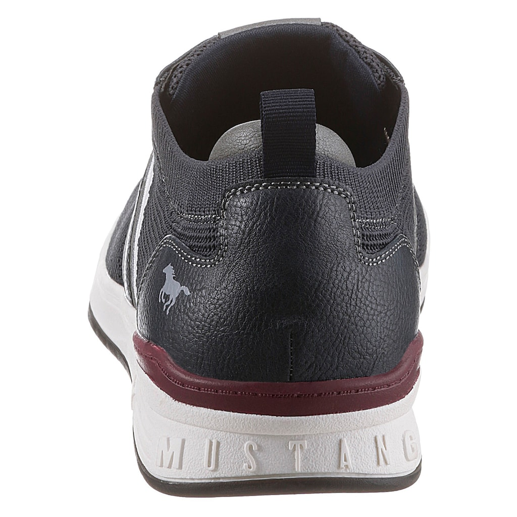 Mustang Shoes Sneaker, mit gepolstertem Fersenpart