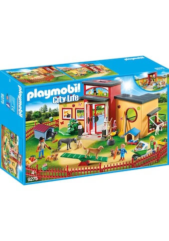 Playmobil® Konstruktions-Spielset »Tierhotel Pfötchen (9275), City Life«, Made in Germany kaufen