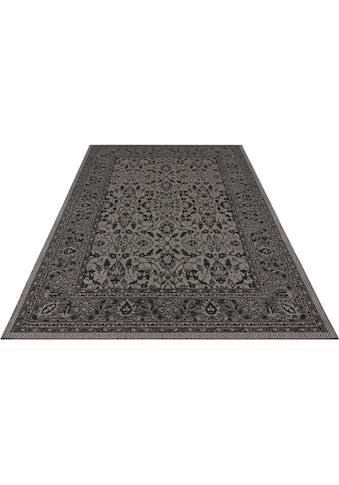 bougari Teppich »Konya«, rechteckig, 4 mm Höhe, Flachgewebe, Orient-Optik, In- und... kaufen