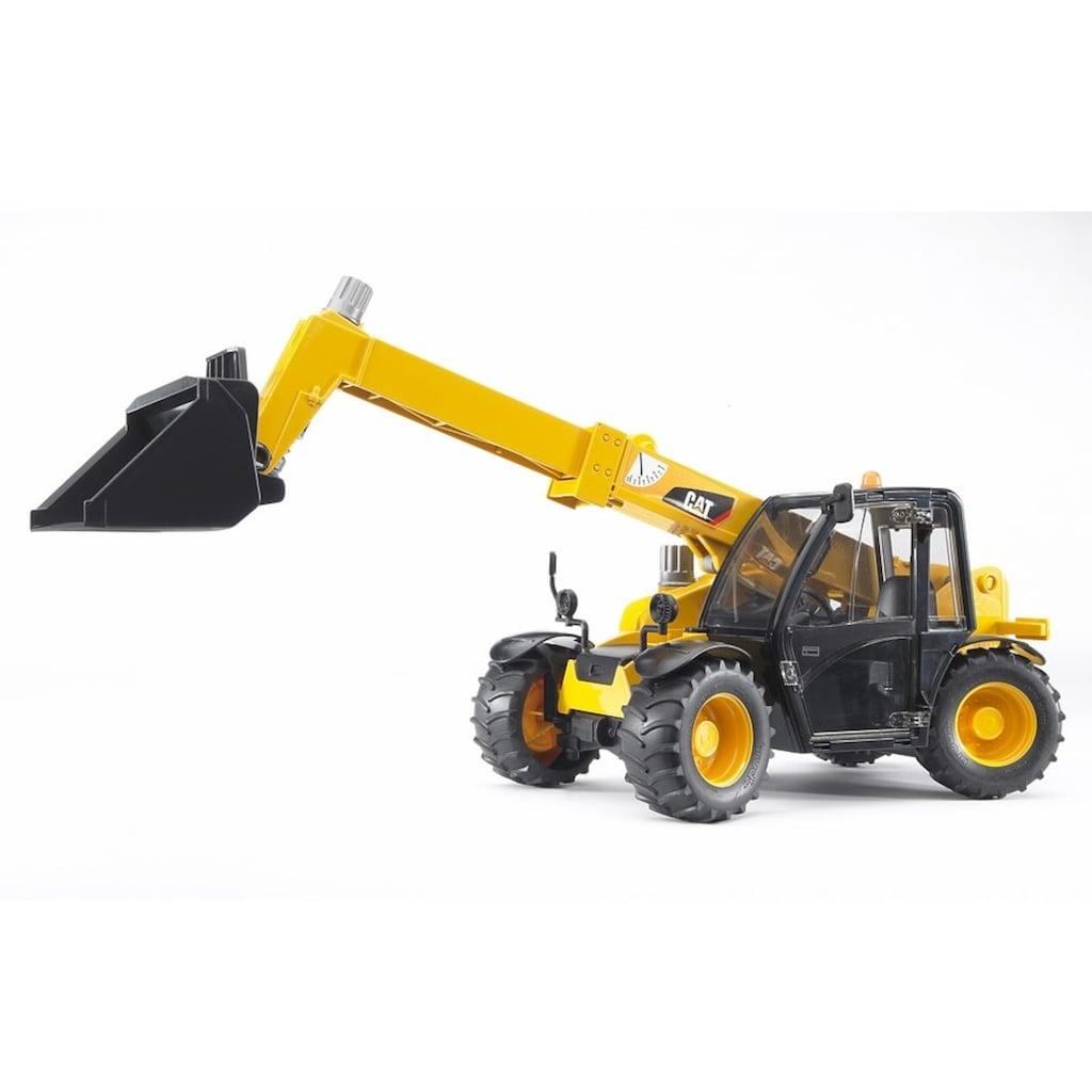 Bruder® Spielzeug-Baumaschine »CAT Teleskoplader«, Made in Germany