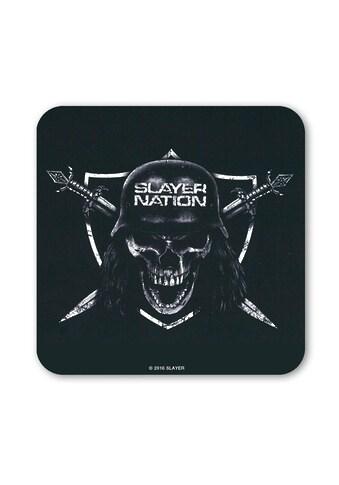 LOGOSHIRT Untersetzer mit rockigem Slayer-Motiv kaufen