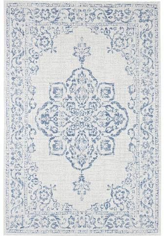bougari Teppich »Tilos«, rechteckig, 8 mm Höhe, Flachgewebe, In- und Outdoor geeignet,... kaufen