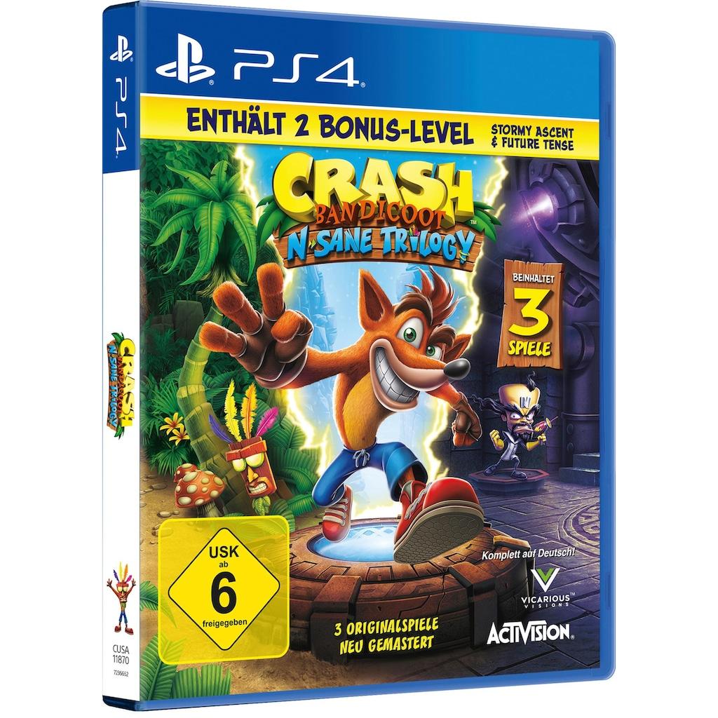 Activision Spiel »Crash Bandicoot«, PlayStation 4