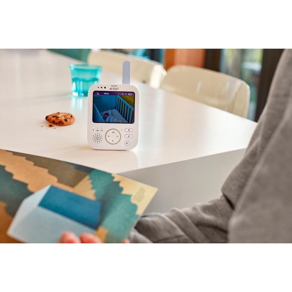 Philips AVENT Video-Babyphone »SCD843/26«, sichere Verbindung, 3,5 Zoll Farbdisplay, Eco-Mode