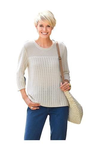 Classic Basics Ajourpullover »Pullover« kaufen