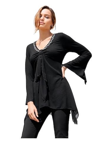 Lady Shirt mit asymmetrischem Abschluss kaufen