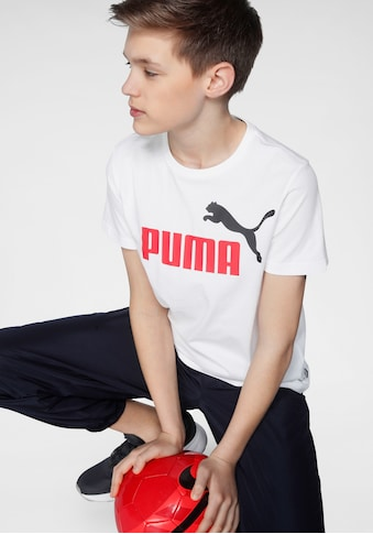 PUMA T - Shirt »ESSENTIAL LOGO TEE BOYS« kaufen