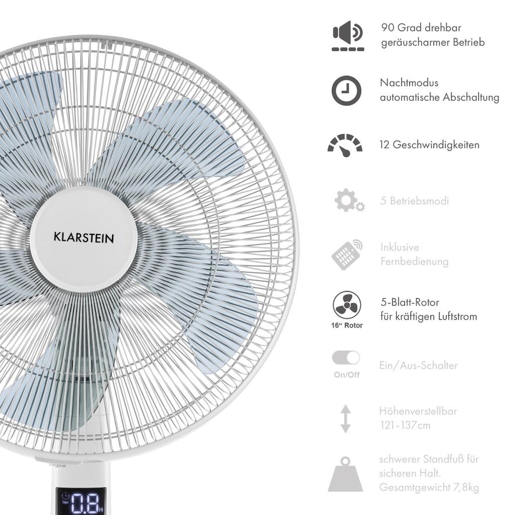 """Klarstein 16"""" Standventilator Ventilator Lüfter Windmaschine 35W Timer"""