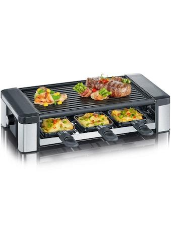 Severin Raclette RG 2676, 6 Raclettepfännchen, 850 Watt kaufen