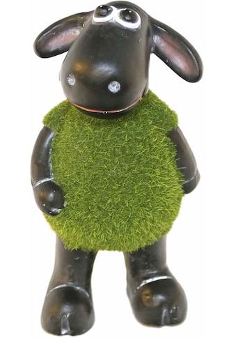 Casa Collection by Jänig Tierfigur »Schaf grün (mit Rasenfell) auf 2 Beinen stehend,... kaufen