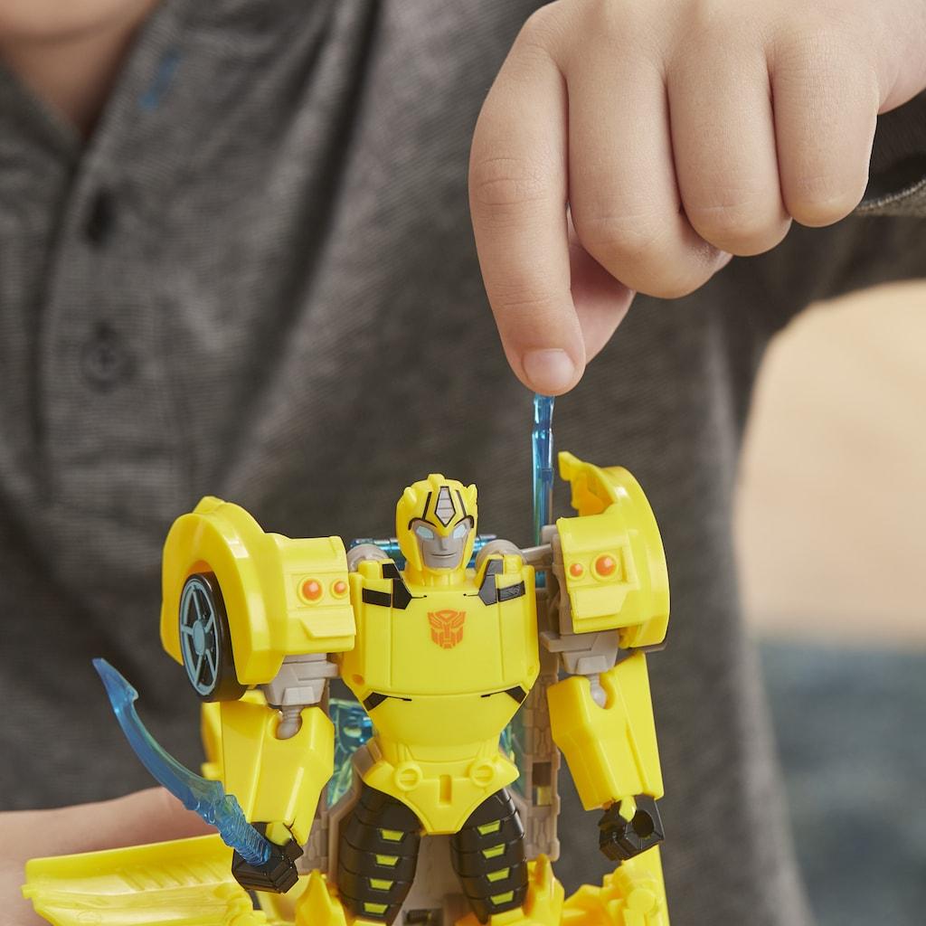 Hasbro Actionfigur »Actionfigur, »Transformers Cyberverse Ultra-Klasse Bumblebee««