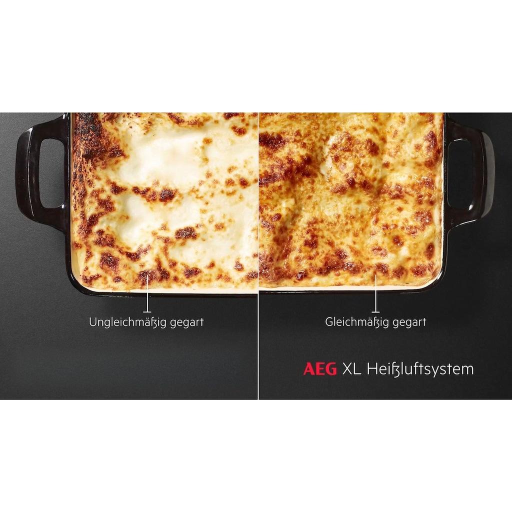 AEG Einbaubackofen »BEB435020M«, BEB435020M, mit Grillfunktion
