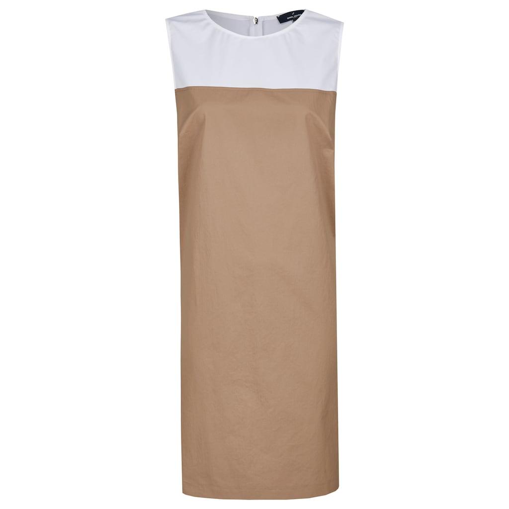 Daniel Hechter Modernes Kleid mit farblichem Kontrast