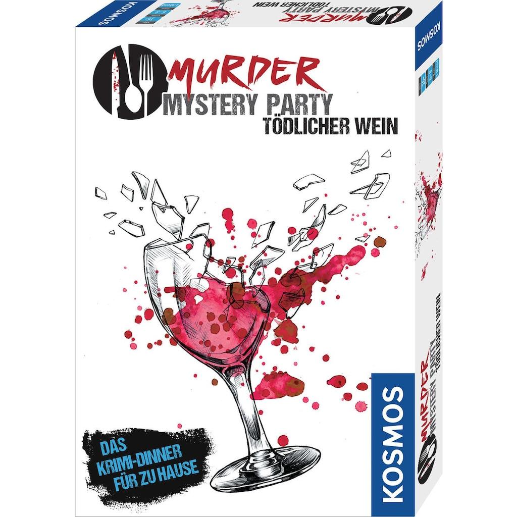 Kosmos Spiel »Murder Mystery Party - Tödlicher Wein«