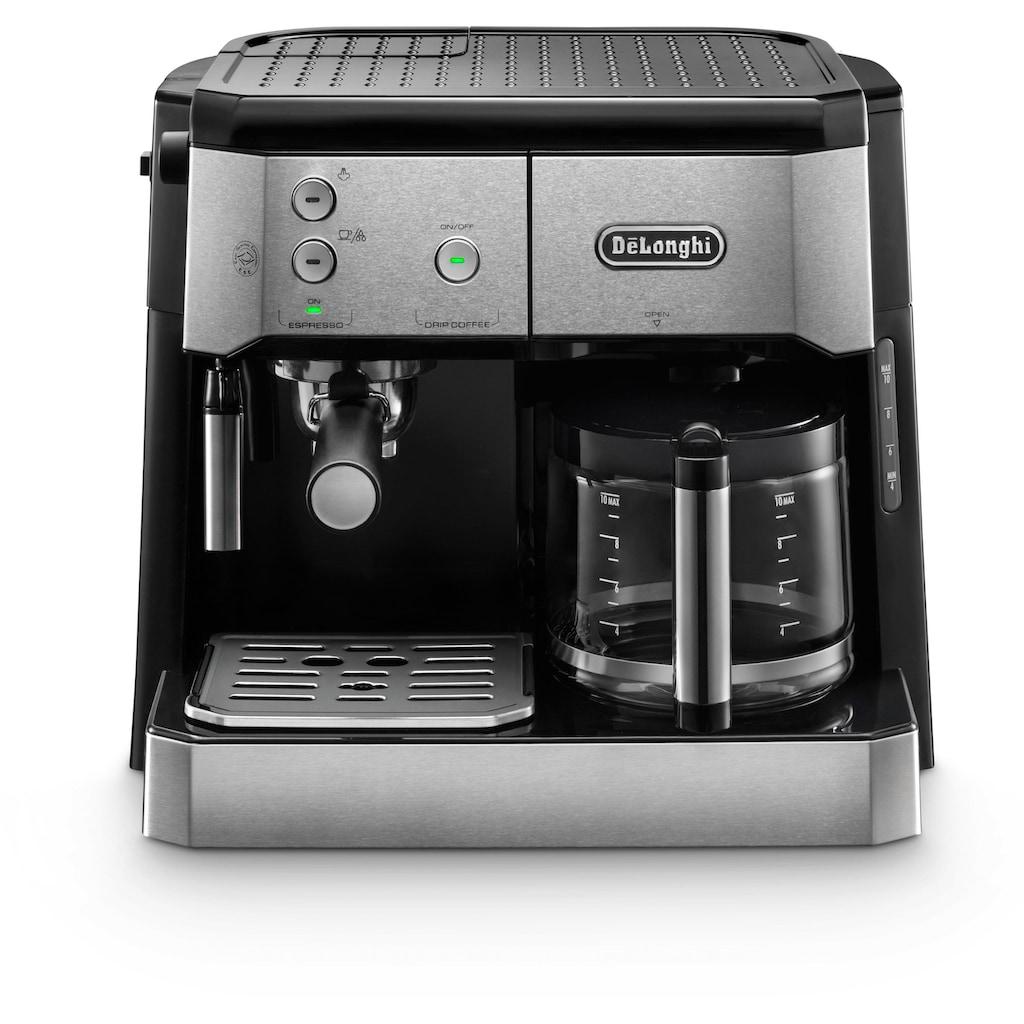 De'Longhi Siebträger-/Filterkaffeemaschine »BCO 421.S«, Papierfilter
